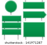 several types of empty   blank... | Shutterstock .eps vector #141971287