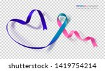 thyroid cancer awareness month. ...   Shutterstock .eps vector #1419754214