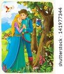 the princesses   castles  ... | Shutterstock . vector #141977344
