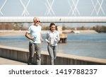 fit senior man in good shape... | Shutterstock . vector #1419788237