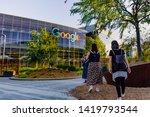 june 8  2019 mountain view   ca ... | Shutterstock . vector #1419793544