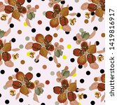fashionable pattern in small... | Shutterstock .eps vector #1419816917
