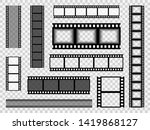 film strip templates. cinema... | Shutterstock .eps vector #1419868127