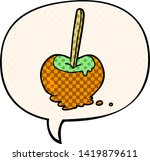 cartoon toffee apple with...   Shutterstock .eps vector #1419879611