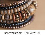 Women's Bracelet With Wooden...