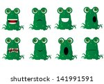 funny monster | Shutterstock .eps vector #141991591