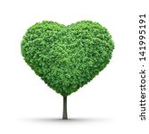 Green Heart Shaped Tree...