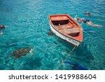 Small Caribbean Boats In Curacao