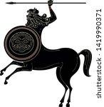 ancient greece mythology... | Shutterstock .eps vector #1419990371
