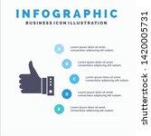 like  finger  gesture  hand ... | Shutterstock .eps vector #1420005731