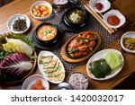 korean spicy food on a plate | Shutterstock . vector #1420032017