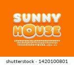 vector bright emblem sunny... | Shutterstock .eps vector #1420100801