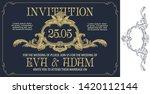 vector template flyer ...   Shutterstock .eps vector #1420112144
