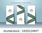 roll up banner design template  ... | Shutterstock .eps vector #1420114847