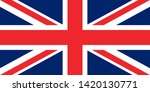flag of the great britain... | Shutterstock .eps vector #1420130771