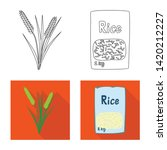 vector design of crop and... | Shutterstock .eps vector #1420212227