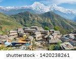 View Of Annapurna Range...