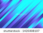 line diagonal background with... | Shutterstock . vector #1420308107