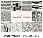 various lines and shapes. set... | Shutterstock .eps vector #1420363517