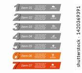 infographic design template...   Shutterstock .eps vector #1420369391
