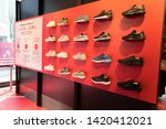 Small photo of TOKYO, JAPAN - MAY 12, 2019 : Asics shop in in Harajuku. Asics is a Japanese multinational company which produces footwear and sports equipment.