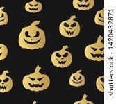 halloween jack o lantern... | Shutterstock .eps vector #1420432871