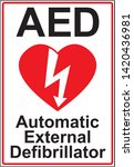 automatic external... | Shutterstock .eps vector #1420436981