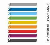 infographic design template...   Shutterstock .eps vector #1420442024