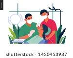 medical insurance template  ... | Shutterstock .eps vector #1420453937