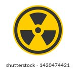 Radiation Icon Vector. Warning...