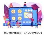 financial literacy education  e ...   Shutterstock .eps vector #1420495001