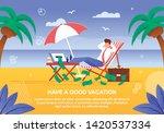 cartoon businessman in suit... | Shutterstock .eps vector #1420537334