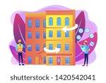 residential house... | Shutterstock .eps vector #1420542041