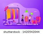 apparel designer  shopper and... | Shutterstock .eps vector #1420542044