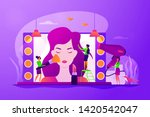 fashion industry  cosmetology... | Shutterstock .eps vector #1420542047