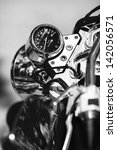 speedometer of a motorcycle | Shutterstock . vector #142056571
