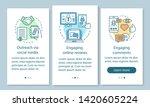 online pr onboarding mobile app ... | Shutterstock .eps vector #1420605224