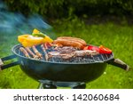 it's barbecue time  | Shutterstock . vector #142060684