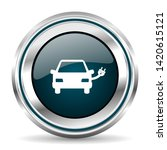 vector icon. chrome border...   Shutterstock .eps vector #1420615121