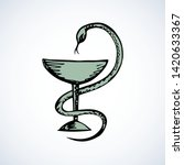beaker of hygieia insignia...