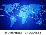 concept tech illustration of...   Shutterstock . vector #142064665