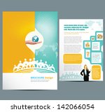 brochure   Shutterstock .eps vector #142066054
