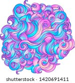 natural texture. decorative... | Shutterstock .eps vector #1420691411