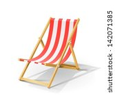 Wooden Beach Chaise Longue...