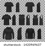 women clothes black templates... | Shutterstock .eps vector #1420969637