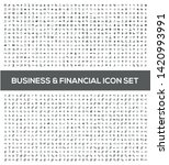 financial and business vector... | Shutterstock .eps vector #1420993991