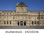 cour carr  of  le louvre in the ... | Shutterstock . vector #14210146
