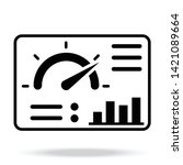 Dashboard Vector Icon For...