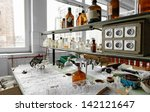 photo of an old laboratory with ... | Shutterstock . vector #142121647