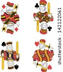 Four Kings Without Cards....